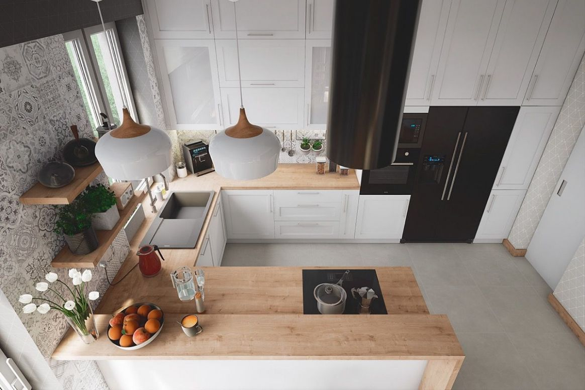 11 Unique U-Shaped Kitchens And Tips You Can Use From Them (With ..
