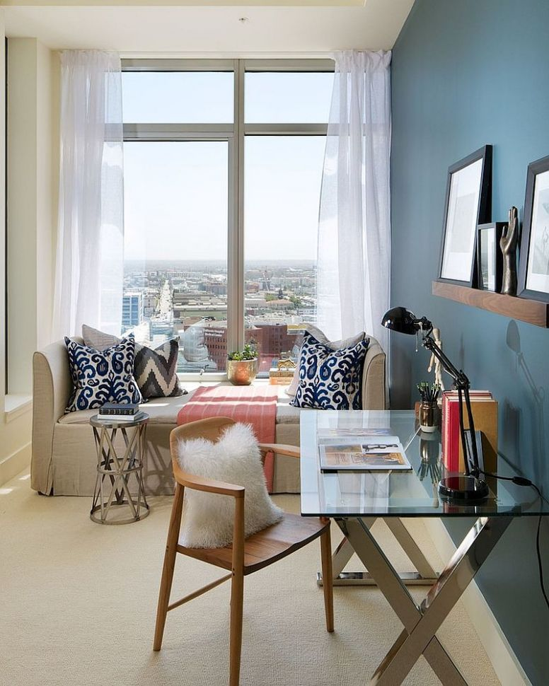 11 Versatile Home Offices That Double as Gorgeous Guest Rooms - home office ideas spare bedroom