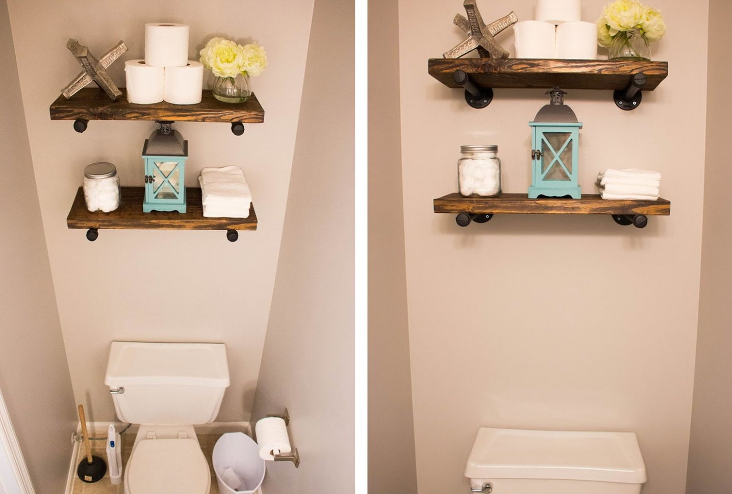 11 Ways To Decorate A Small Bathroom | Shutterfly