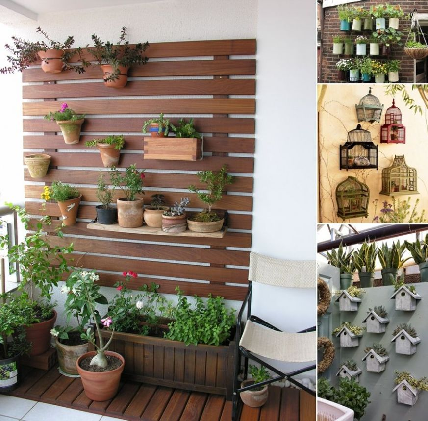 12 Awesome Balcony Wall Decor Ideas for Your Home (With images ..