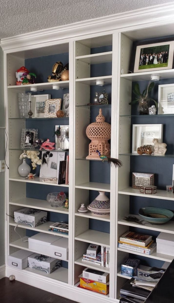 12 Awesome IKEA Billy Bookcases Ideas For Your Home - closet bookshelf ideas