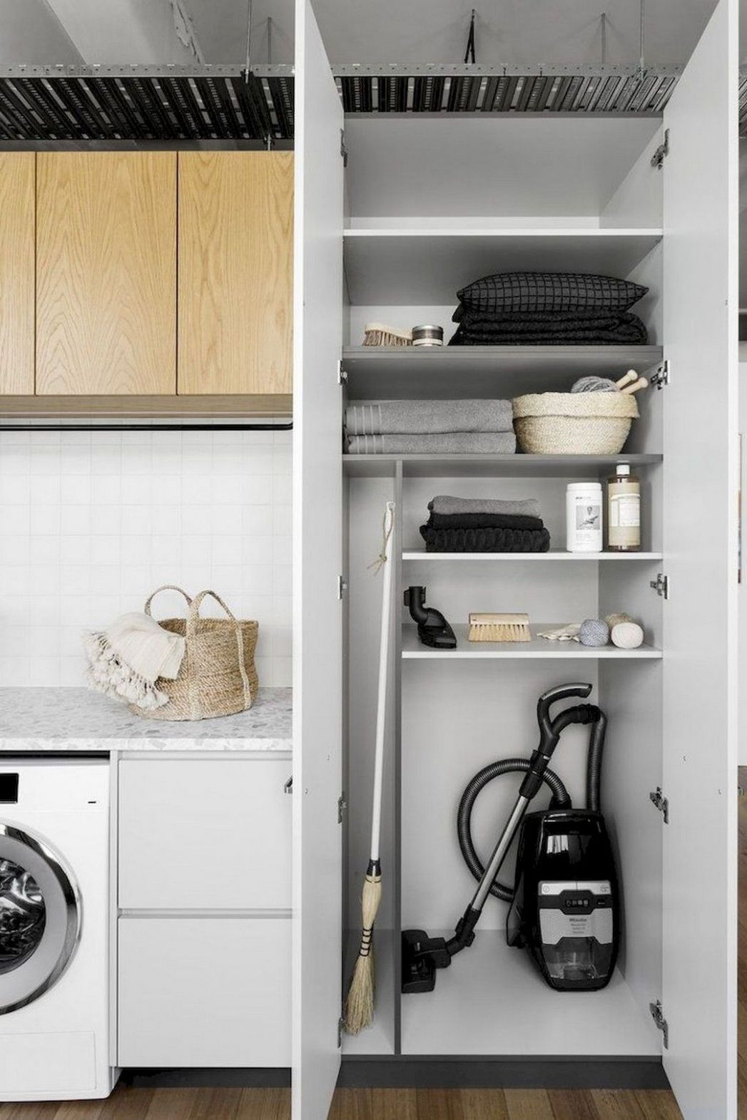 12 Awesome Laundry Room Storage and Organization Ideas (With ...