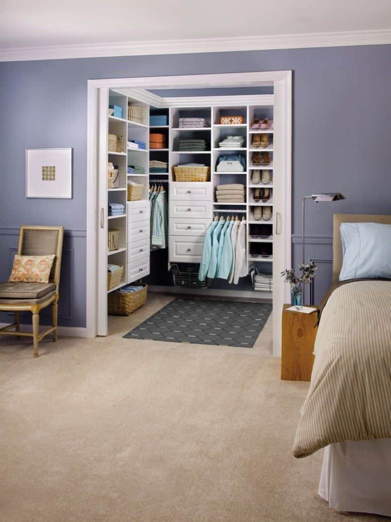 12 Awesome Walk-In Closet Ideas (Photos) - closet ideas in bedroom