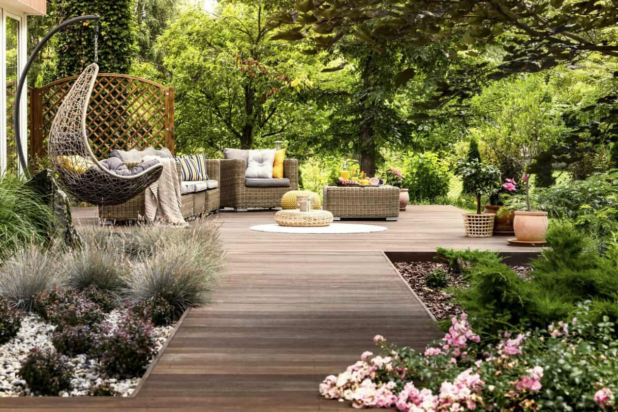 12 Backyard Landscaping Ideas for Your Home (Photos) - backyard ideas meaning