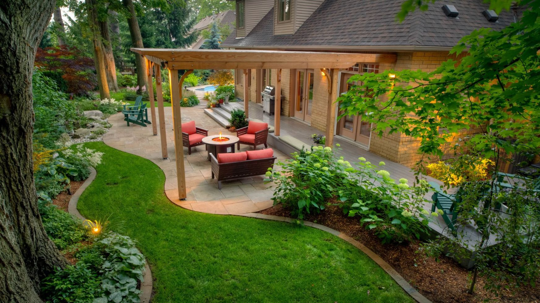 12 Backyard Landscaping Ideas to Inspire You - backyard ideas pictures