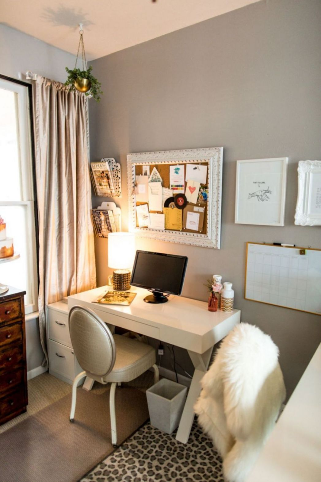 12 Beautiful Home Office Design Ideas For Small Spaces | Small ..