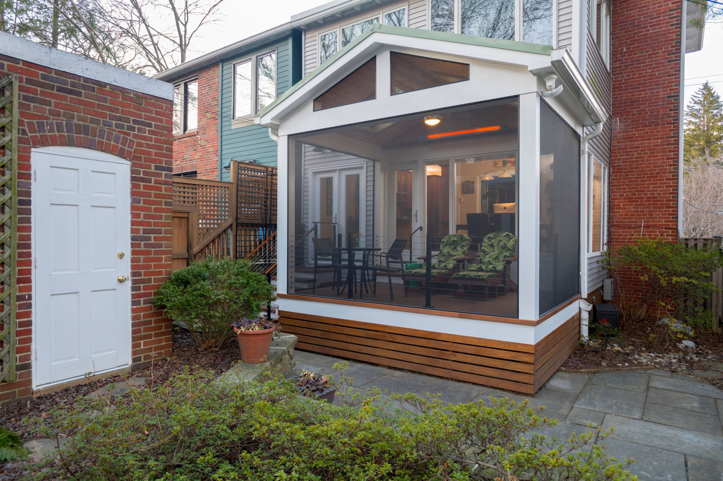 12 Beautiful Modern Screened-In Porch Pictures & Ideas | Houzz - modern front porch ideas australia