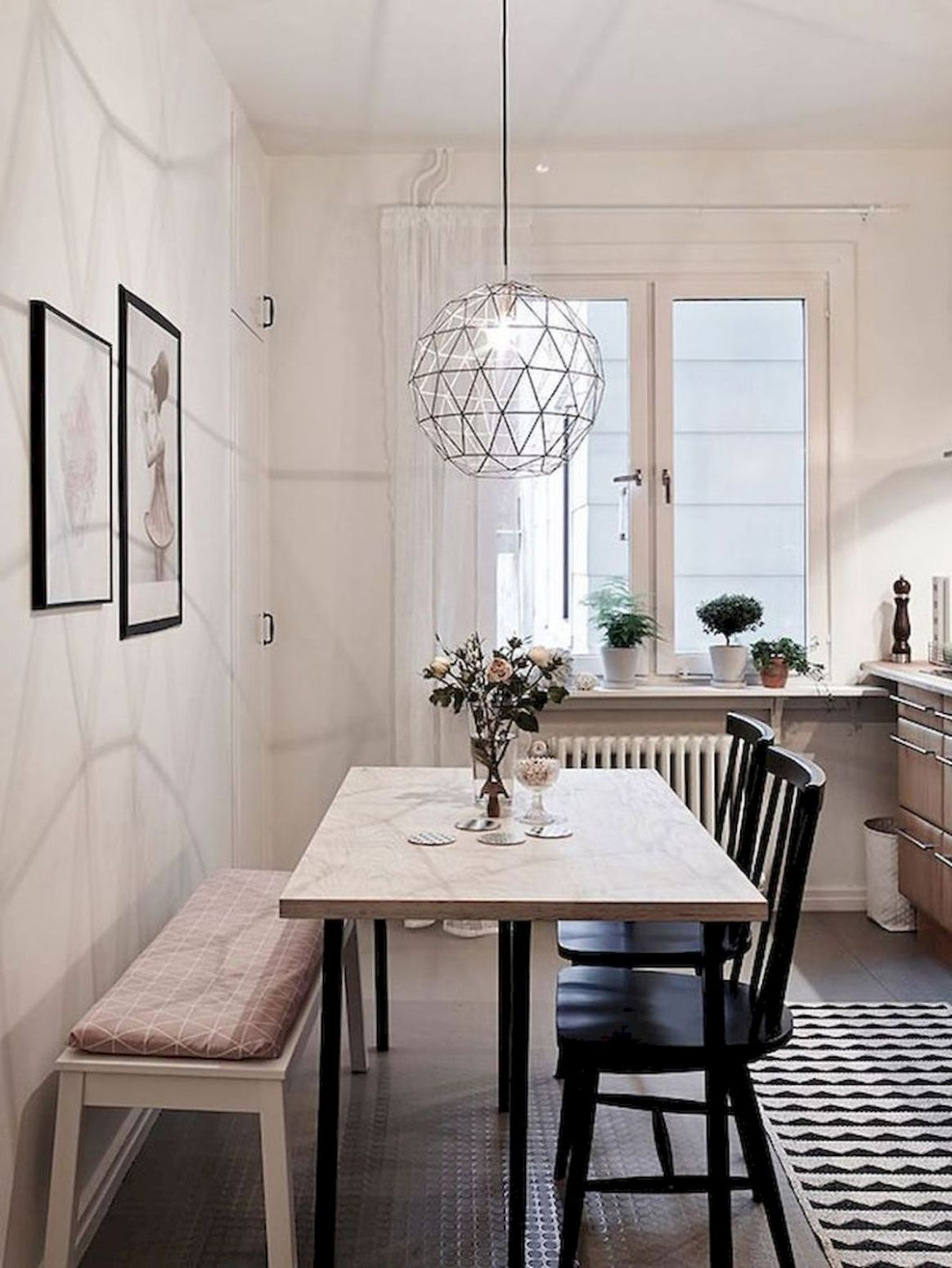 12 Beautiful Small Dining Room Ideas On A Budget   Small dining ...