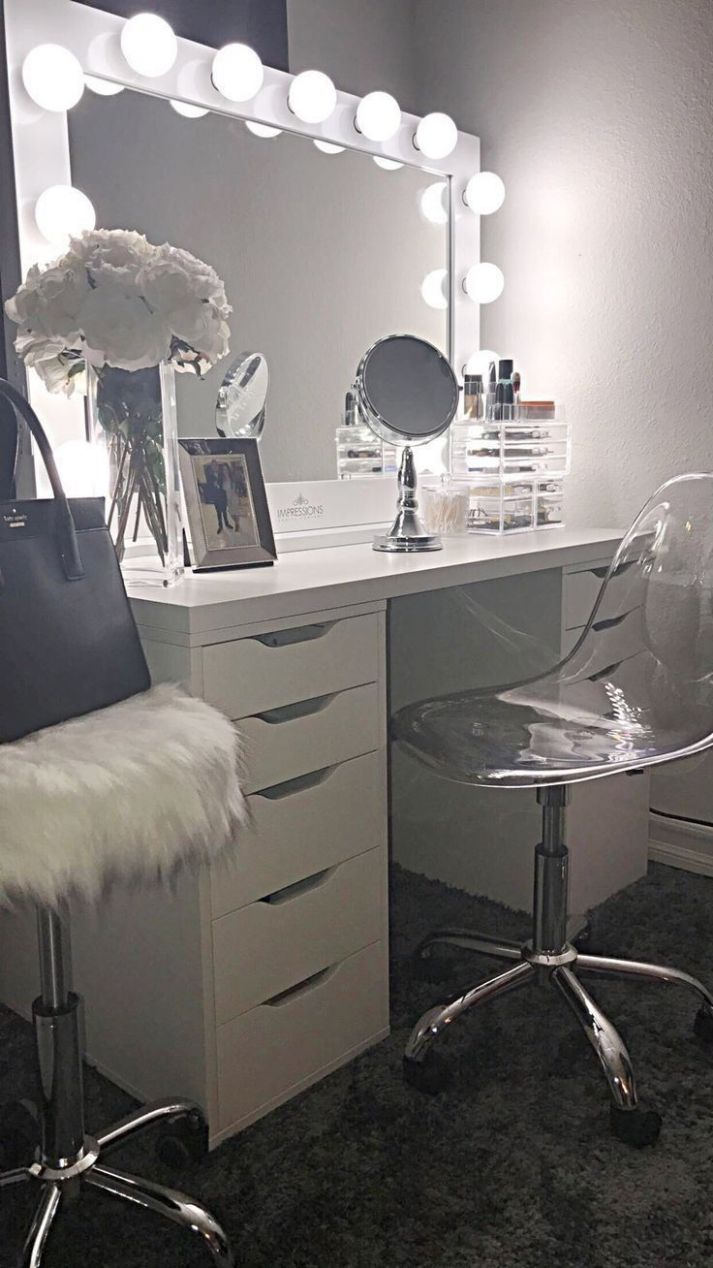 12+ Beautifull Makeup Vanity Ideas That'll Change Your Interior ...