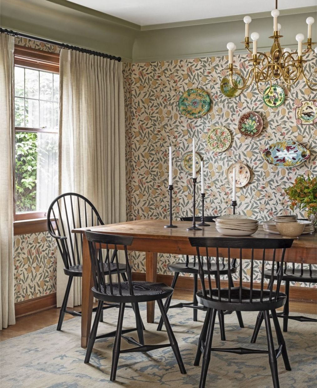 12 Best Dining Room Decorating Ideas - Country Dining Room Decor - dining room accessories ideas