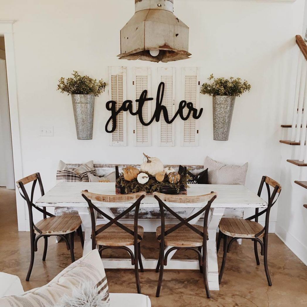 12 Best Farmhouse Dining Room Design and Decor Ideas for 12 - dining room accessories ideas