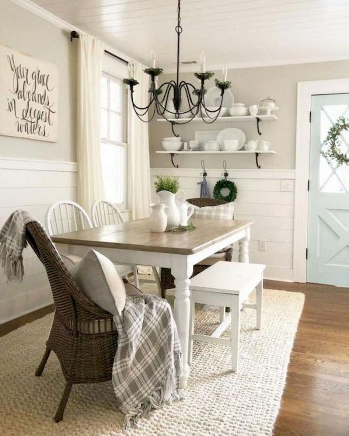 12 Best Farmhouse Table Dining Room Decor Ideas - Googodecor