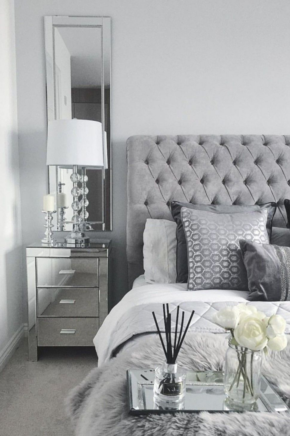 12 Best Of Grey and Silver Bedroom Ideas | Silver bedroom, White ..