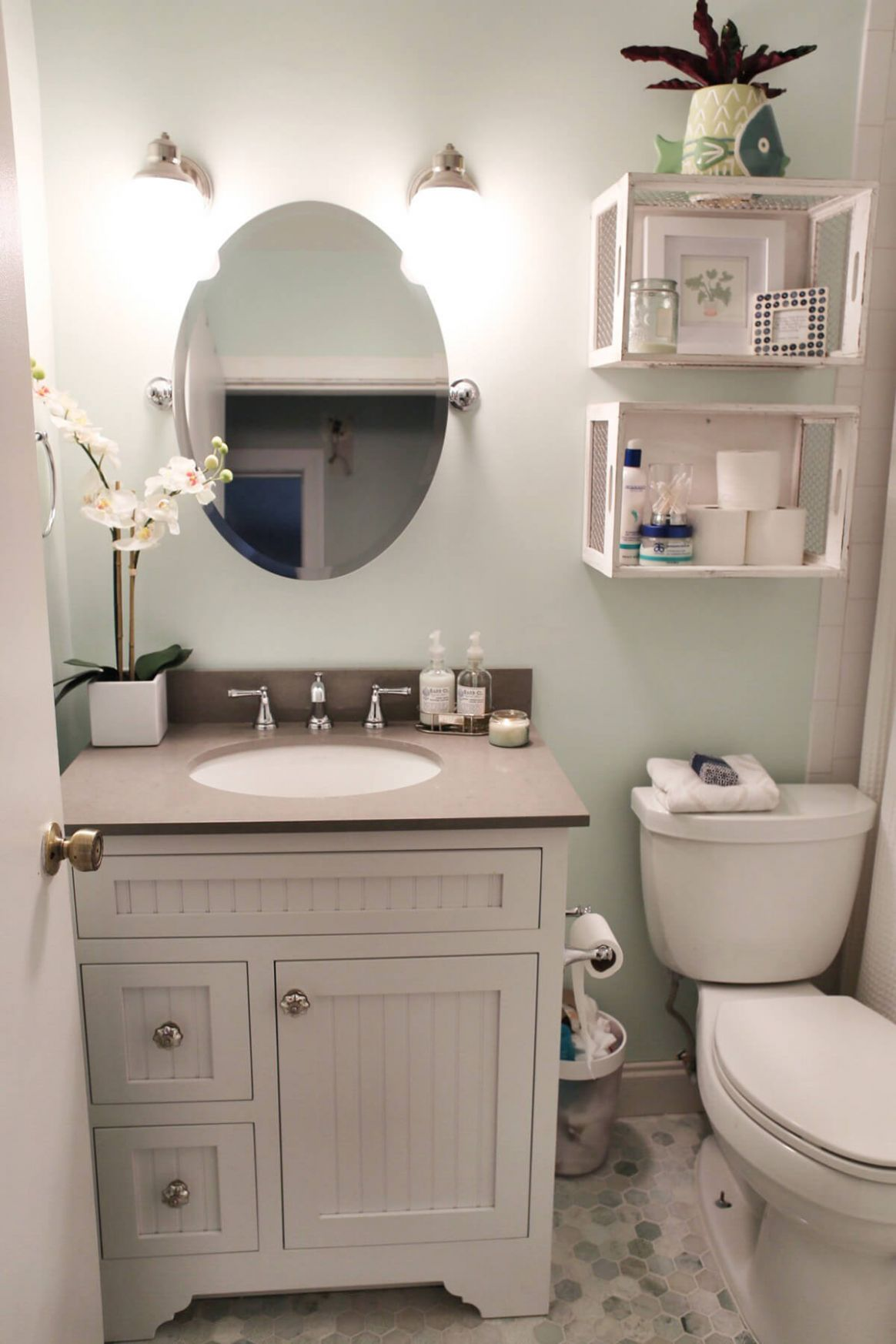 12 Best Over the Toilet Storage Ideas and Designs for 12 - bathroom ideas above toilet