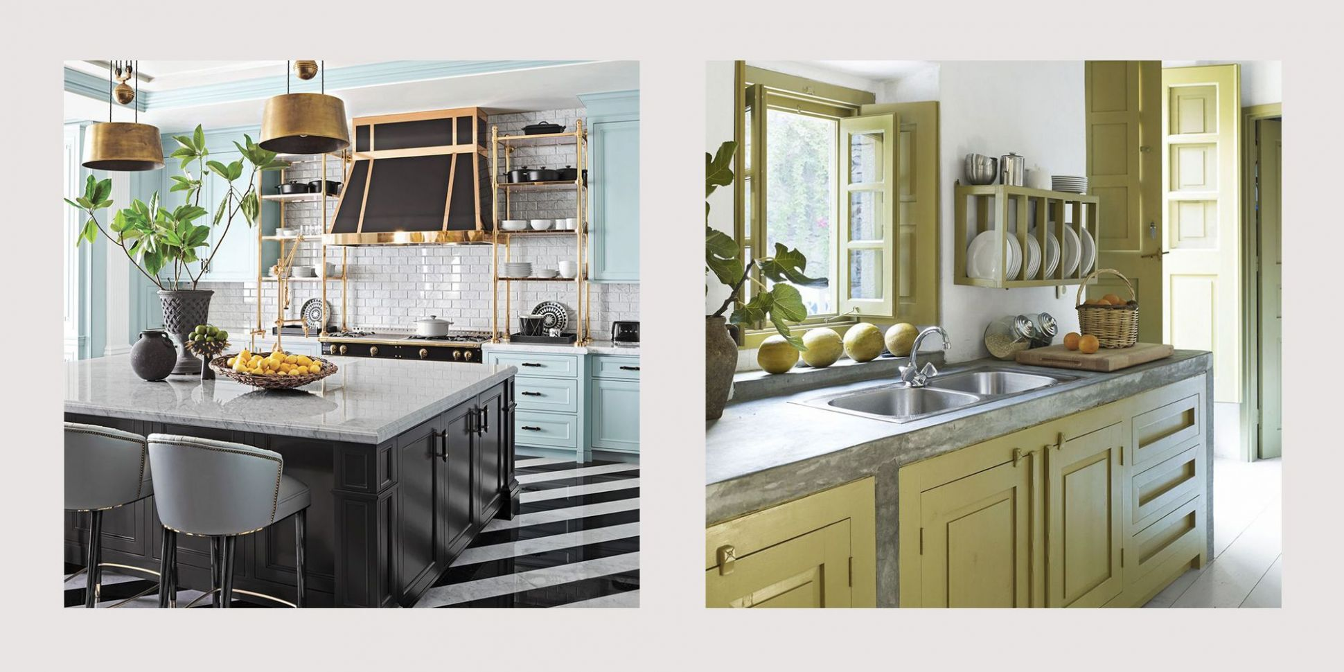 12 Best Painted Kitchen Cabinets - Ideas for Transforming Your ..