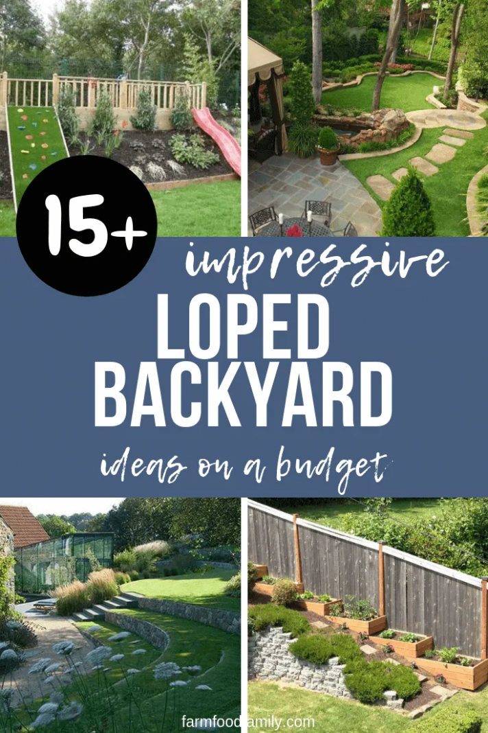 12+ Best Sloped Backyard Ideas & Designs On A Budget For 12 in ..