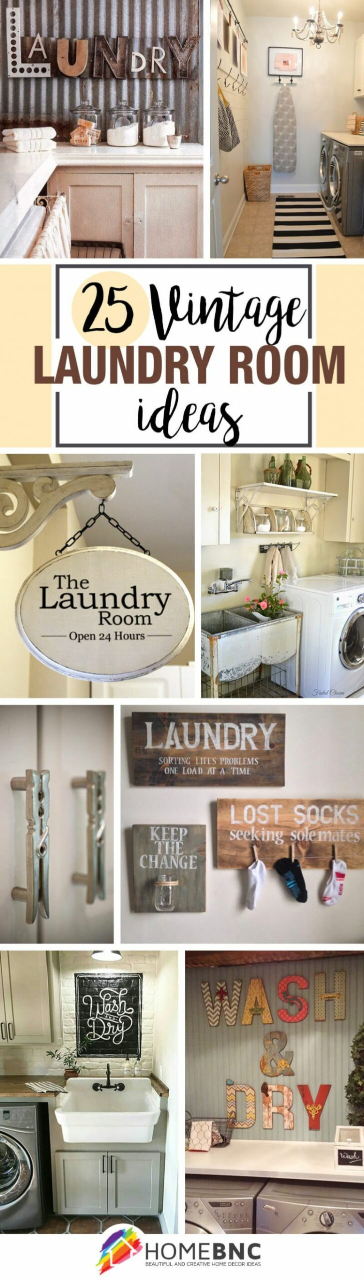 12 Best Vintage Laundry Room Decor Ideas and Designs for 12