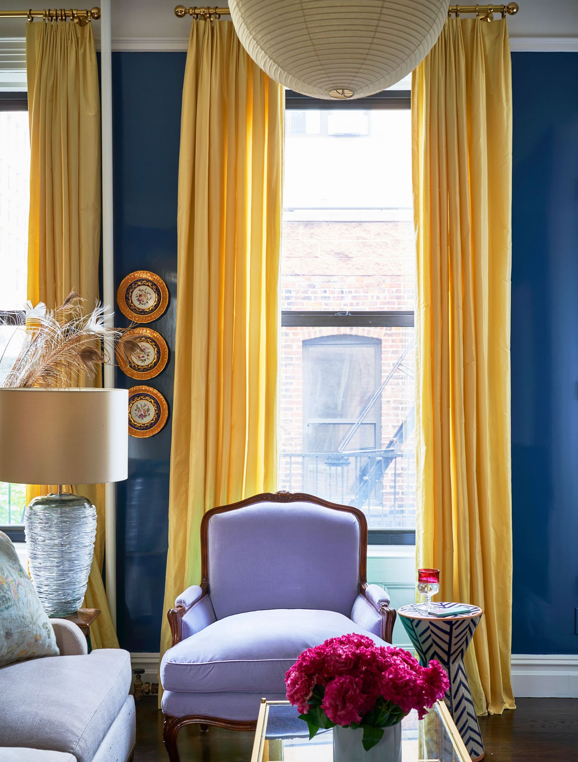 12 Best Window Treatment Ideas - Window Coverings, Curtains, & Blinds - window valance ideas for family room