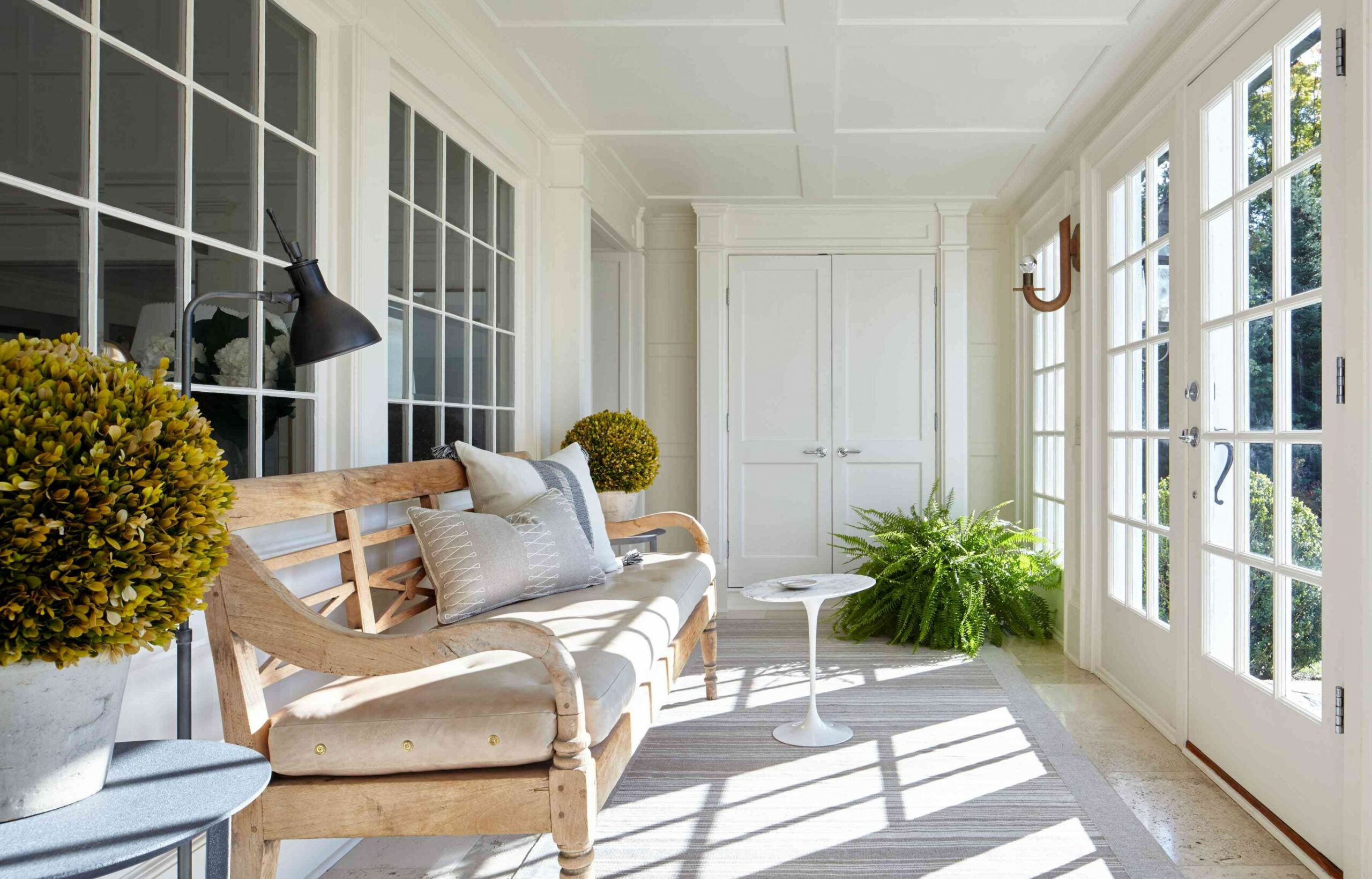 12 Brilliant Sunrooms For Bringing The Outdoors In - long sunroom ideas