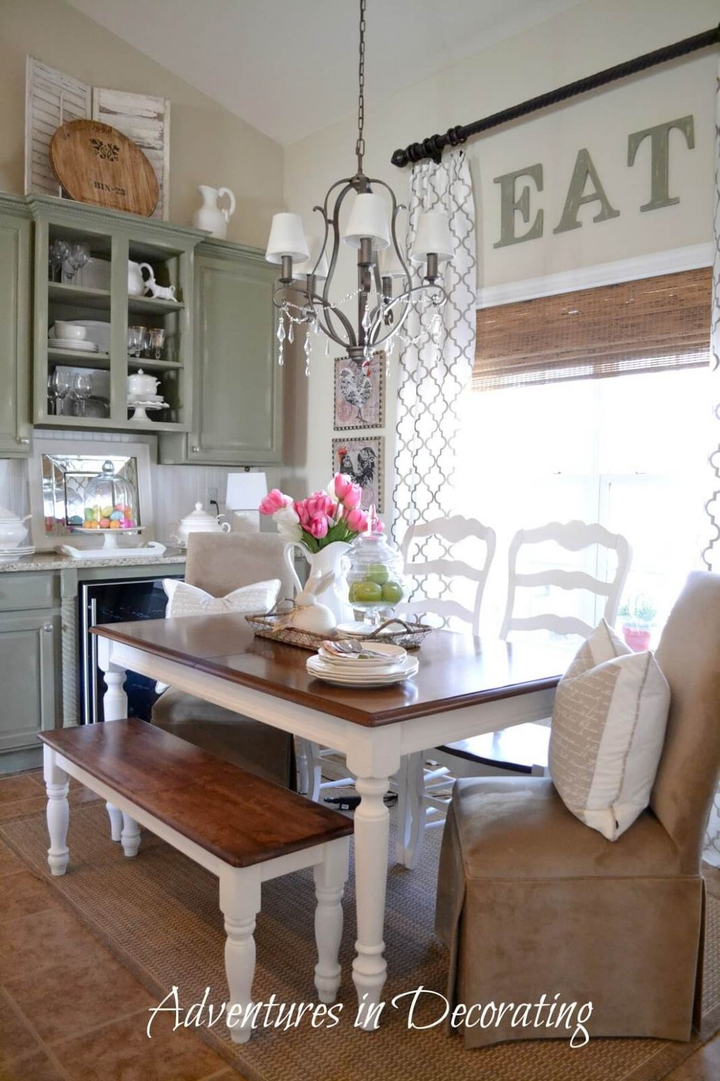 12 Charming Farmhouse Dining Room Design and Decor Ideas - dining room ideas farmhouse