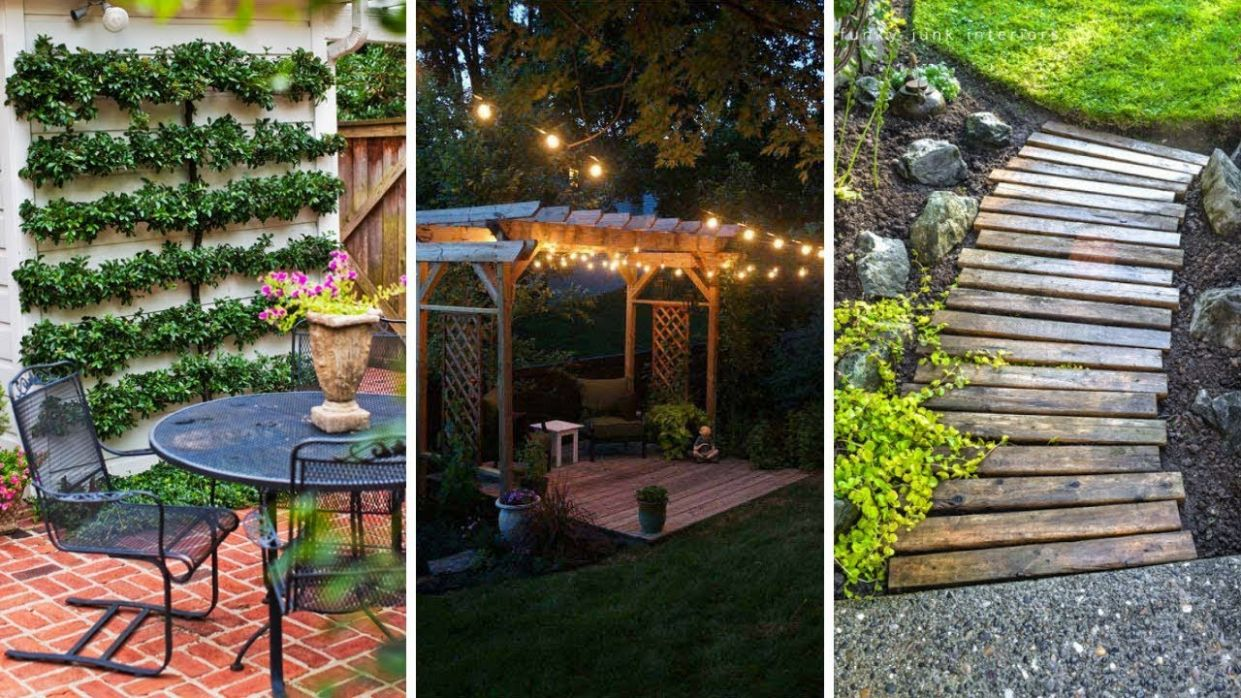 12 Cheap Landscaping ideas for Small Backyards - backyard ideas pictures