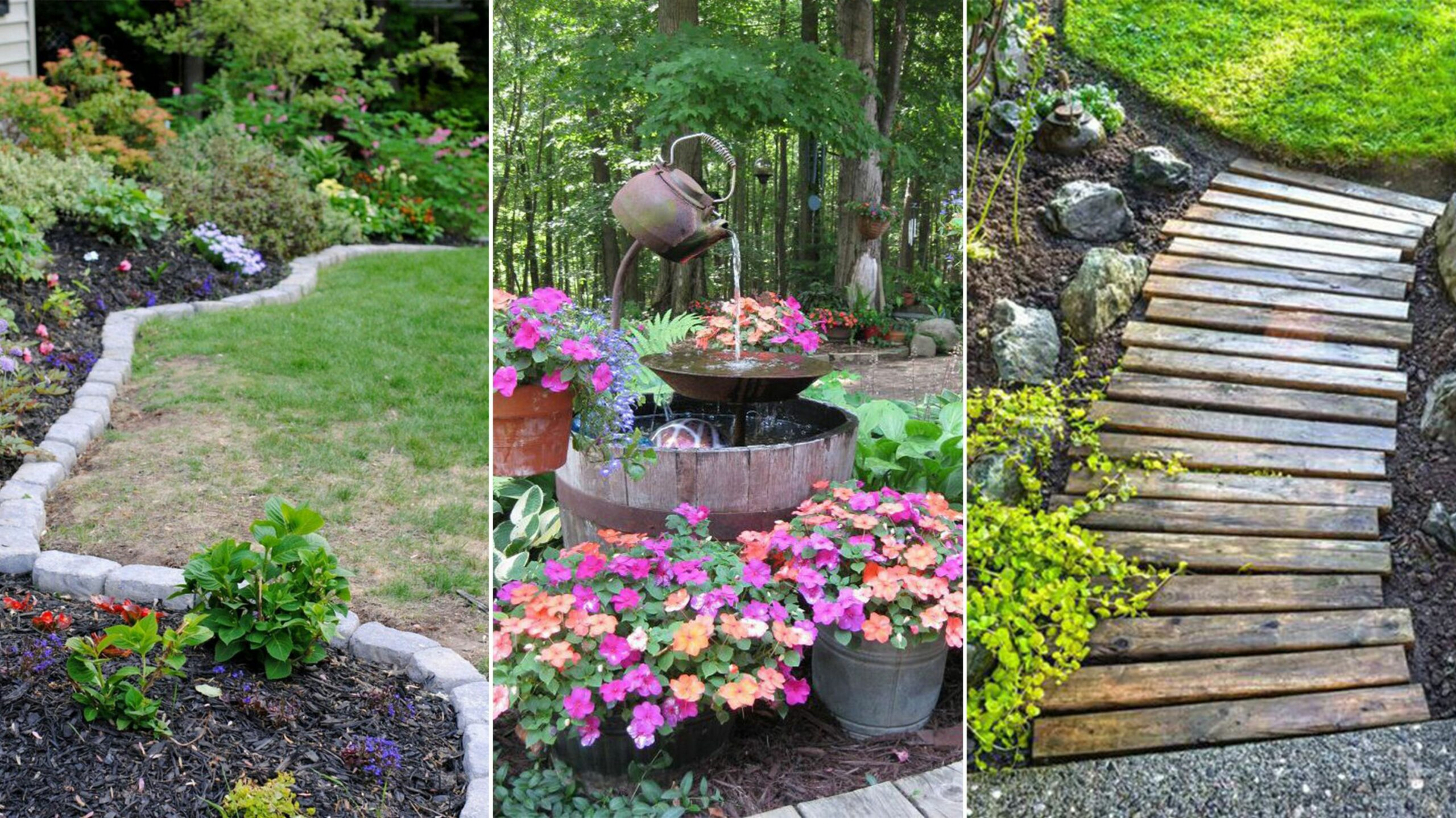 12 Clever Designs of How to Upgrade Backyard Gardens Ideas (With ..