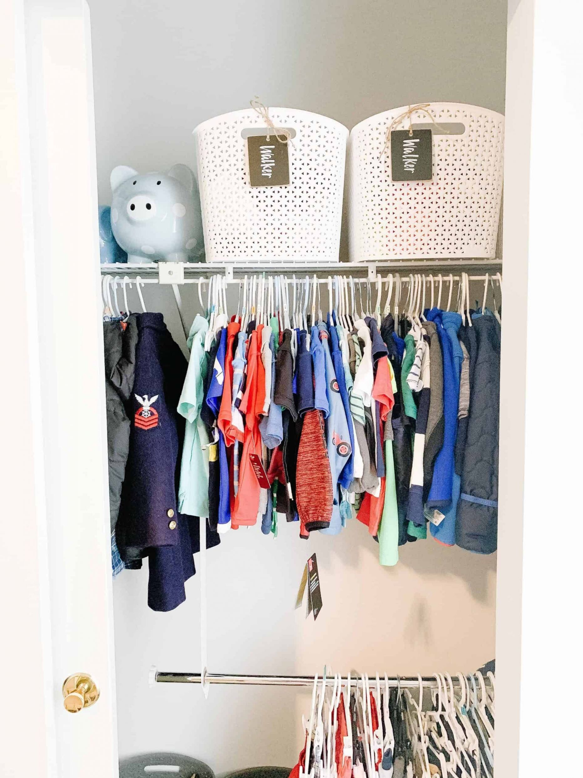12 Closet Organization Ideas - Best DIY Closet Organizers - closet hook ideas
