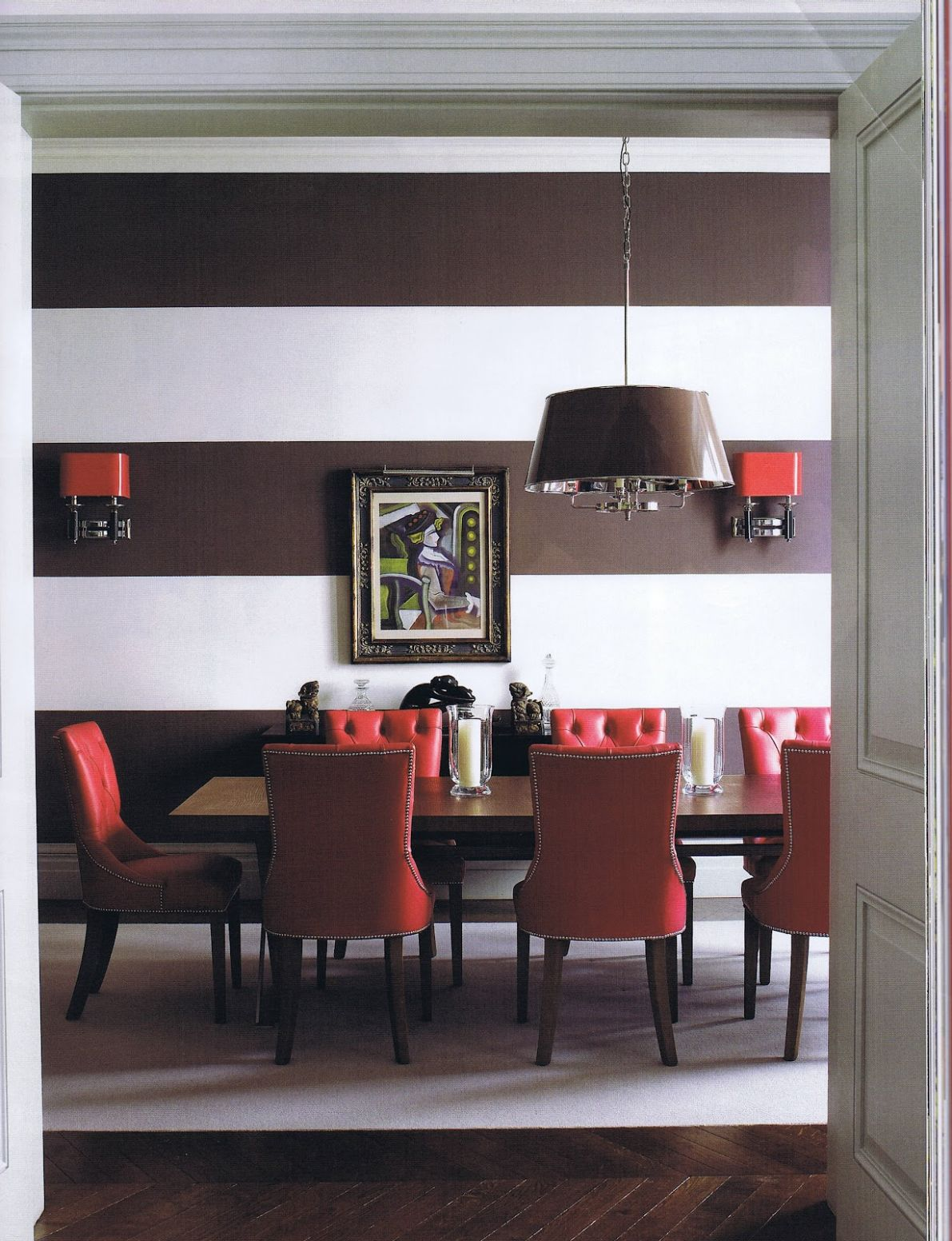 12 Colors That Jive Well With Red Rooms - dining room ideas red
