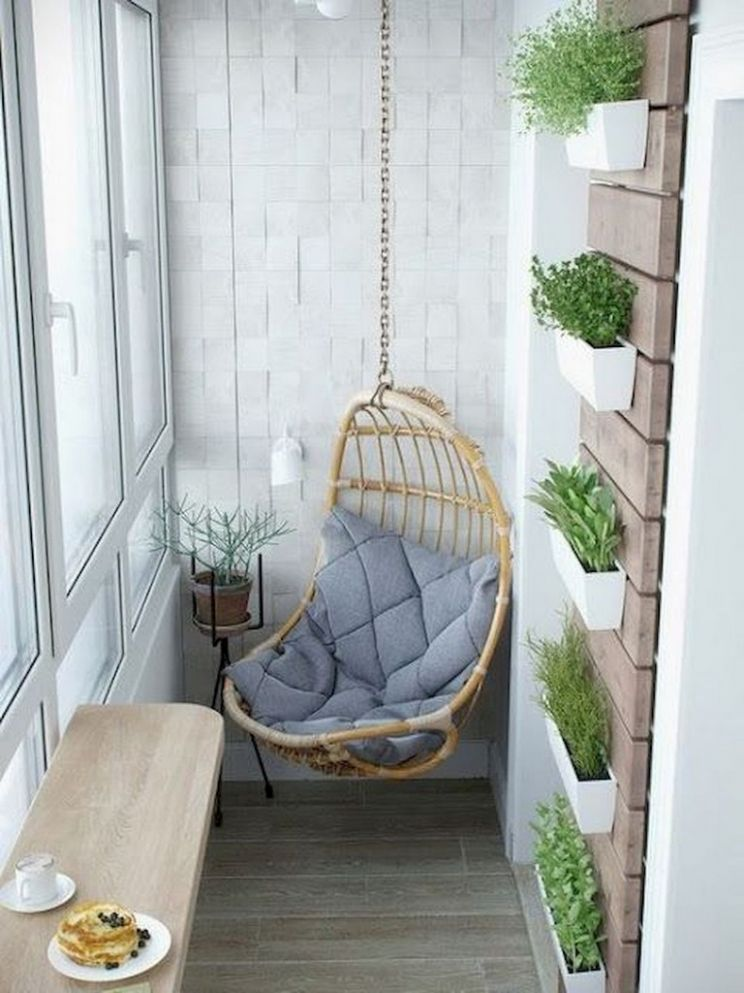 12+ Comfortable Small Balcony Makeover Ideas - balcony makeover ideas