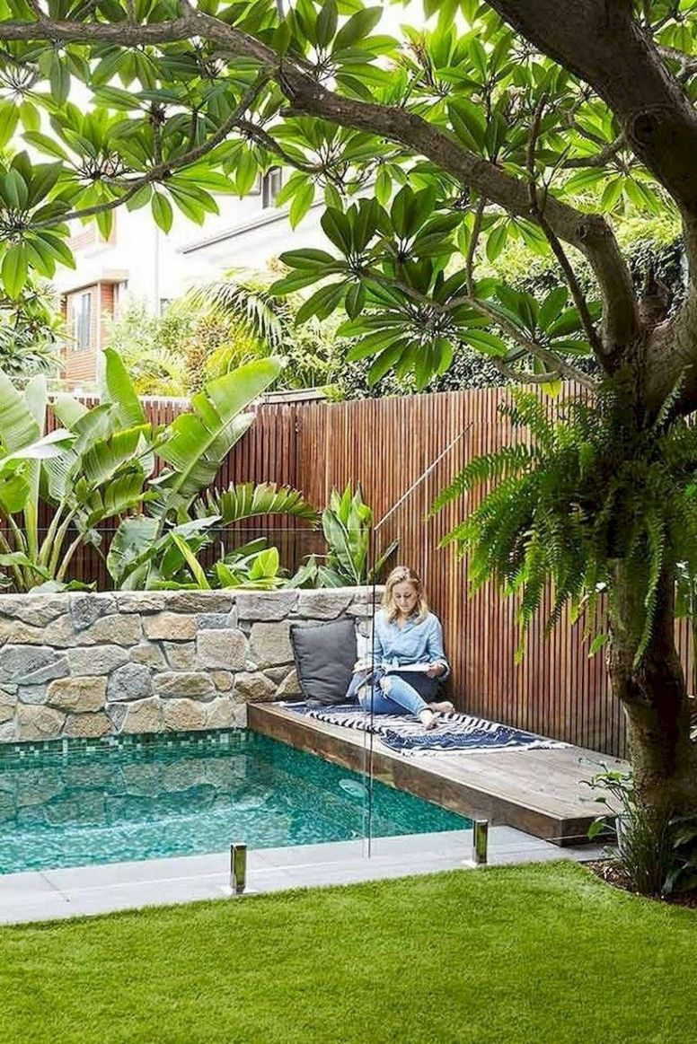 12 Cozy Swimming Pool Garden Design Ideas On a Budget | Small ..