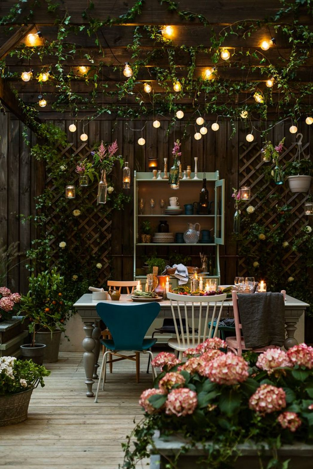 12 Delicious Ideas for Dining Room Furniture | Backyard lighting ...