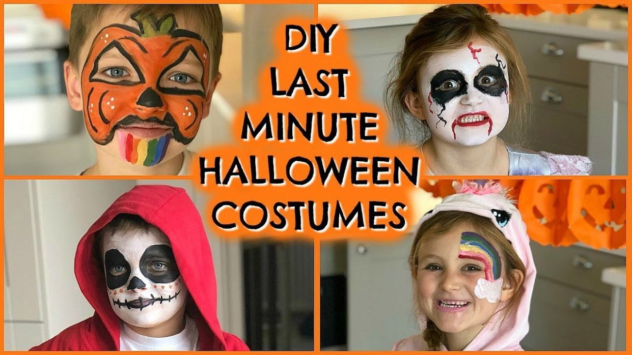 12 DIY LAST MINUTE HALLOWEEN FACE PAINT FOR KIDS | EMILY NORRIS AD