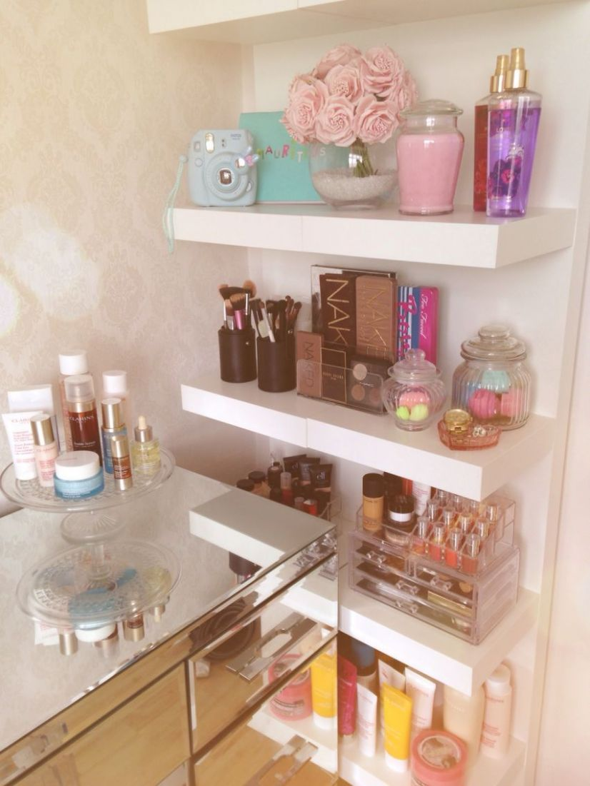 12 DIY Make Up Storage to De-clutter Your Dressing Table and ...