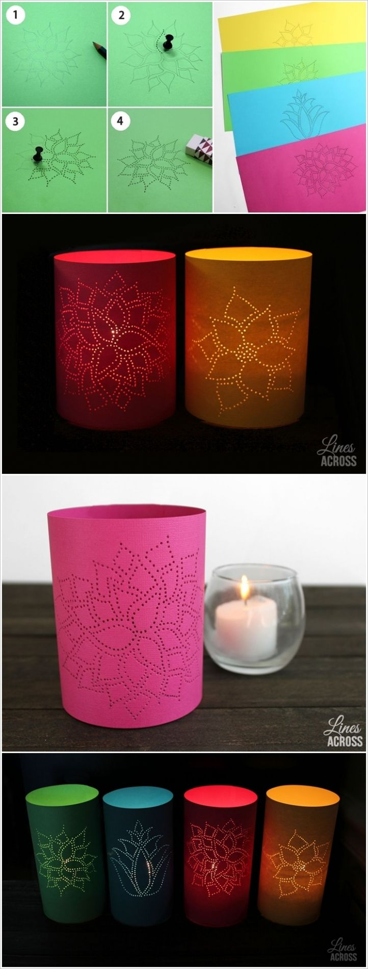 12 DIY Paper Lanterns and Lamps l Easy Paper Craft Ideas And Projects