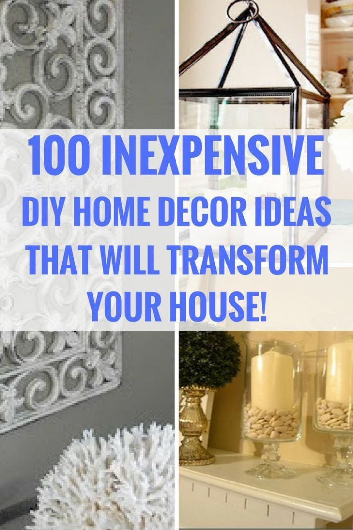 12 Dollar Store DIY Home Decor Ideas | Inexpensive home decor ...