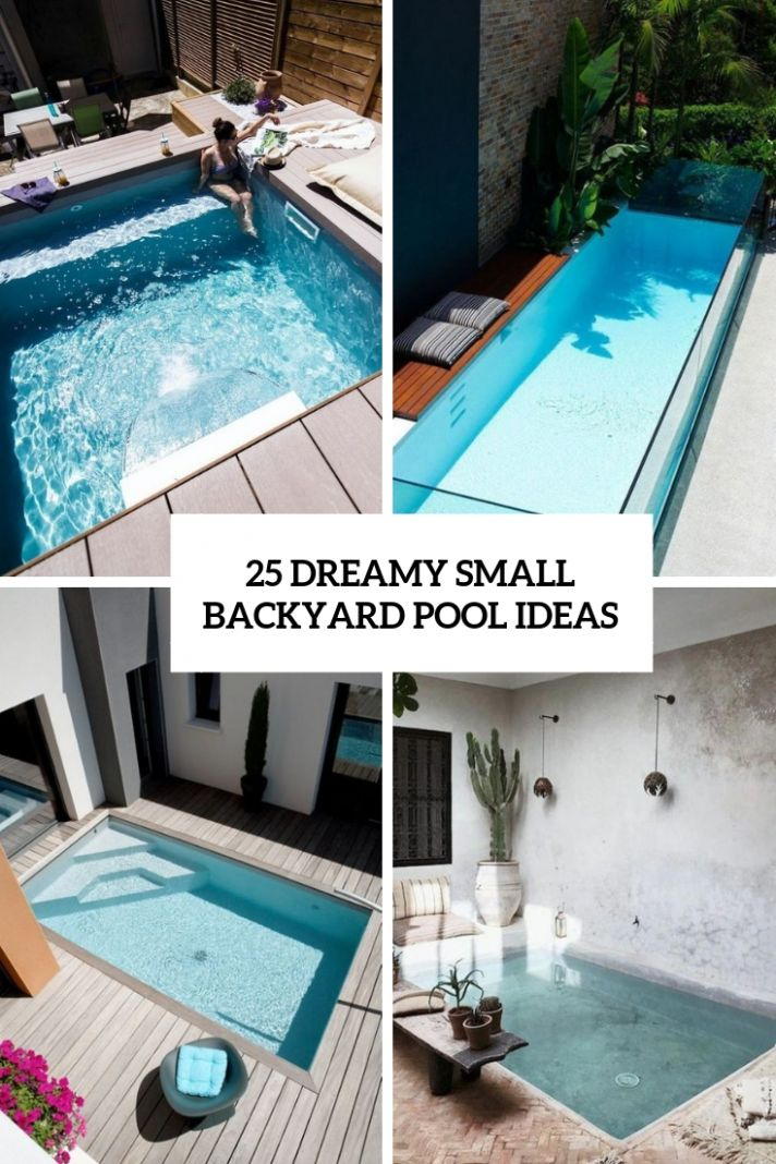 12 Dreamy Small Backyard Pool Ideas - Shelterness - pool ideas small yard