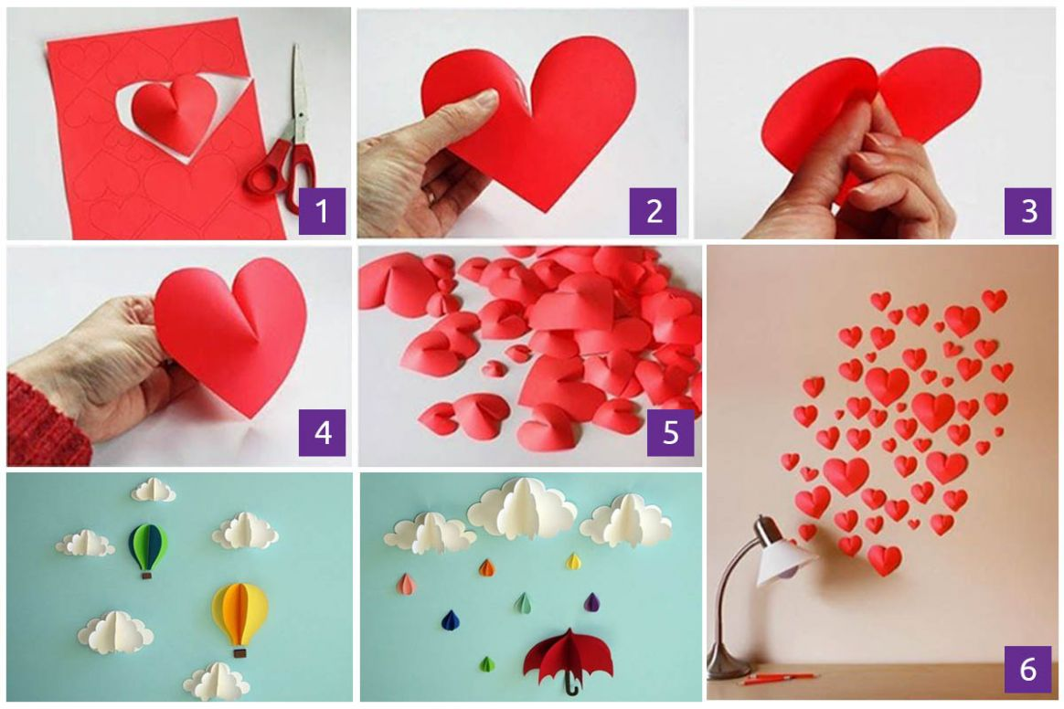 12 Extraordinary Smart DIY Wall Paper Decor [Free Template Included]
