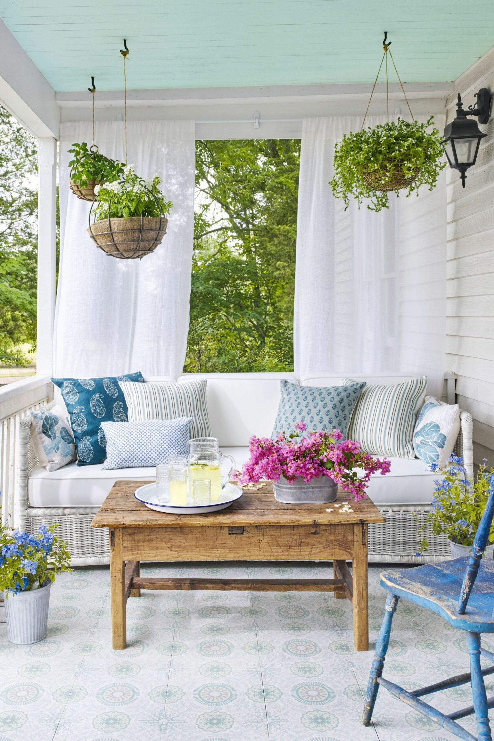 12 Front Porch Ideas - Designs and Decorating Ideas for Your Front ... - front porch ideas