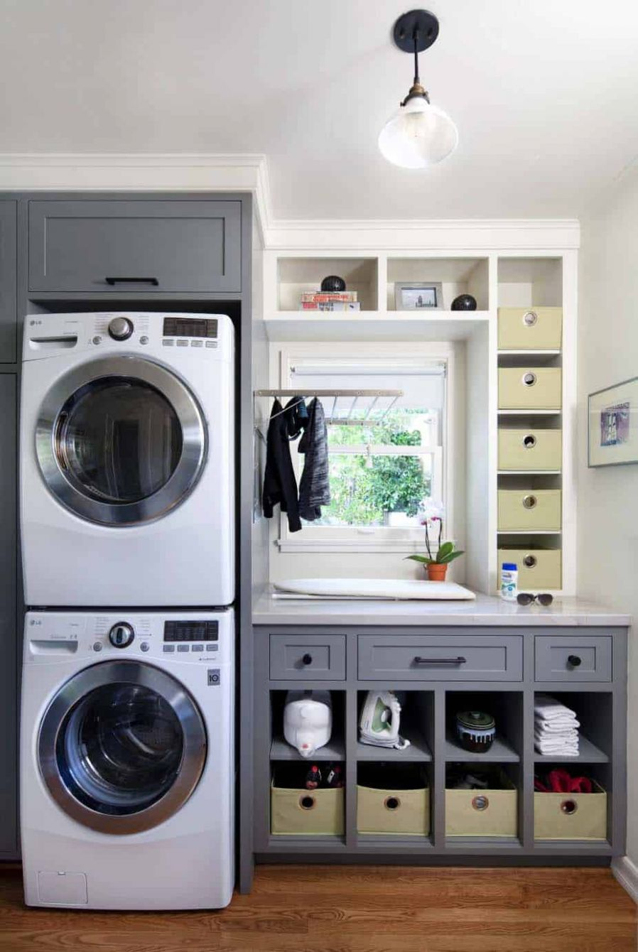 12 Functional And Stylish Laundry Room Design Ideas To Inspire