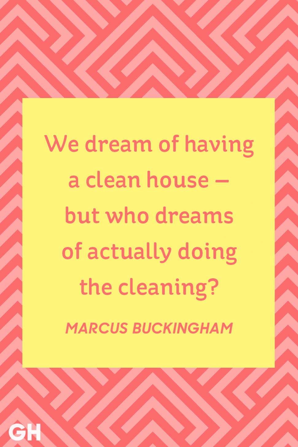 12 Funny Cleaning Quotes - Famous Quotes About a Clean House - house cleaning inspiration