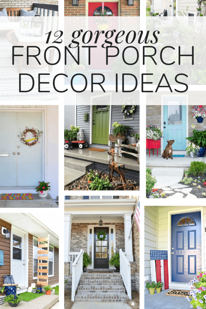 12 Gorgeous Small Front Porch Ideas - Love & Renovations in 12 ...