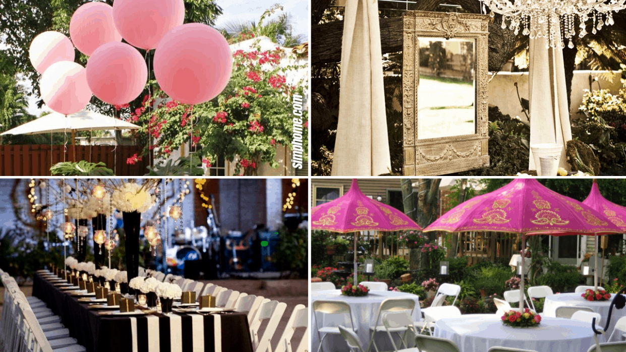 12 Ideas How to Build Backyard Engagement Party (Some of the ..