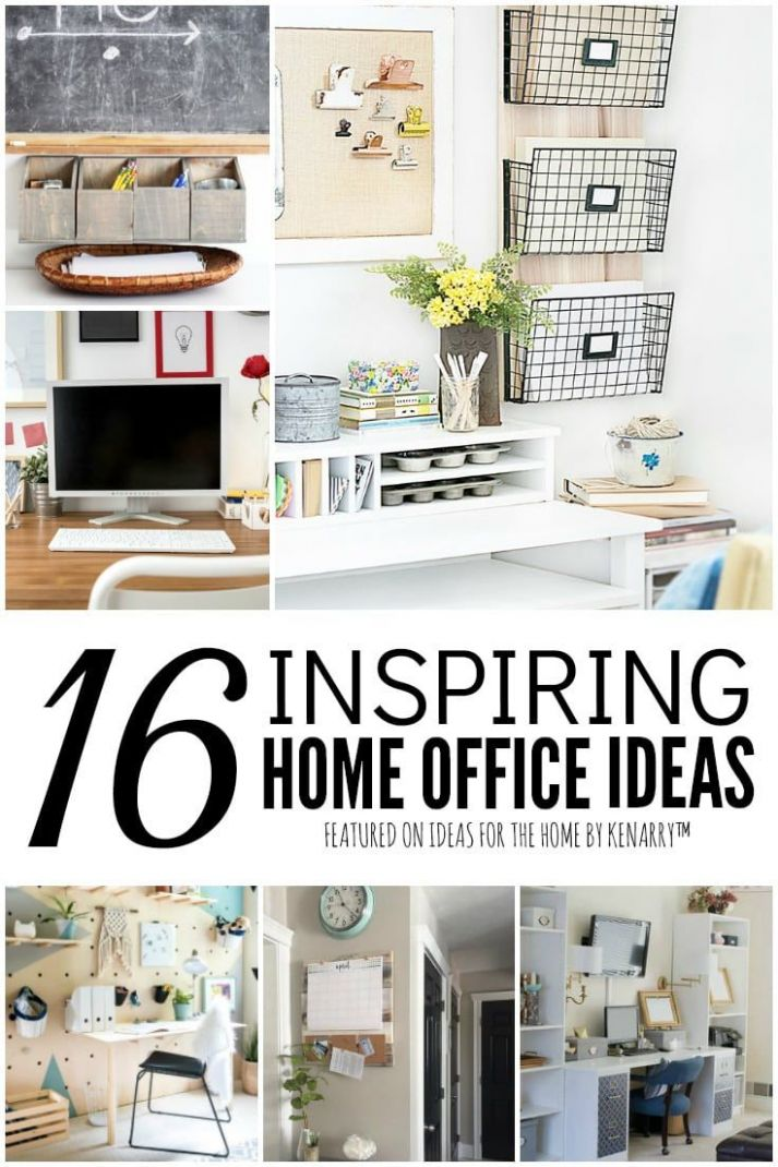 12 Inspiring & Efficient Home Office Ideas in 12 (With images ...