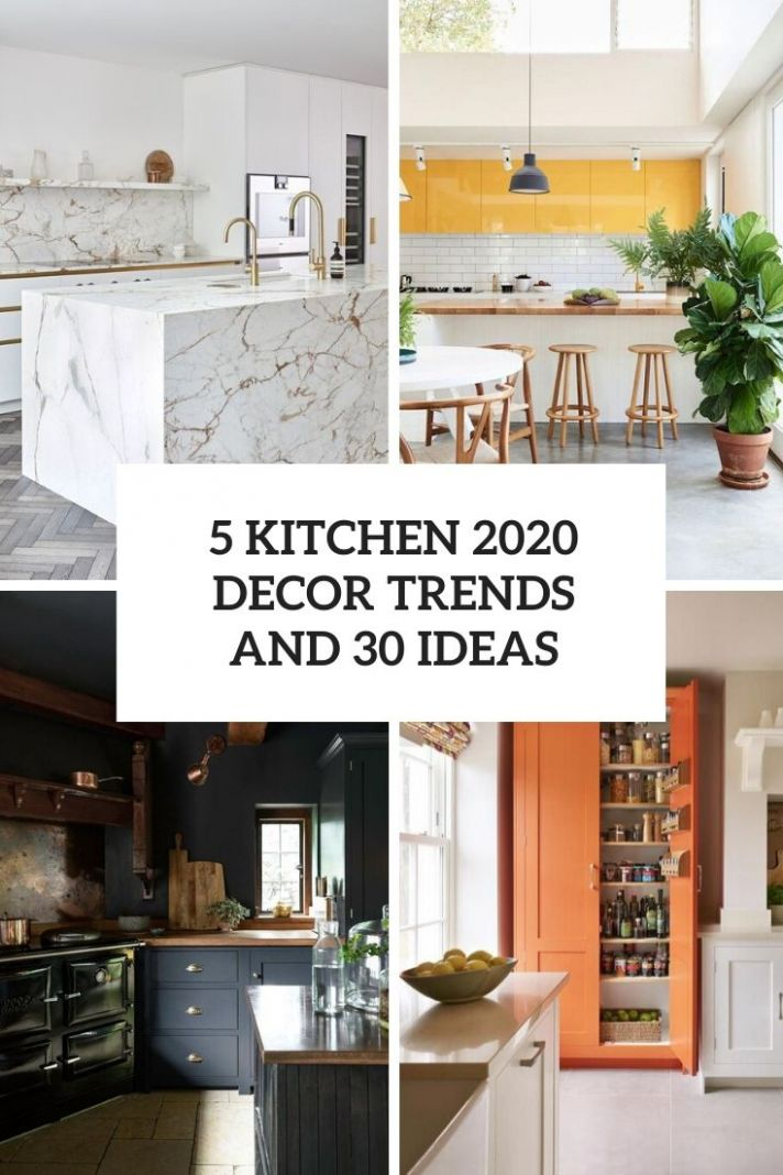 12 Kitchen 12 Décor Trends And 12 Ideas - Shelterness - kitchen ideas for 2020