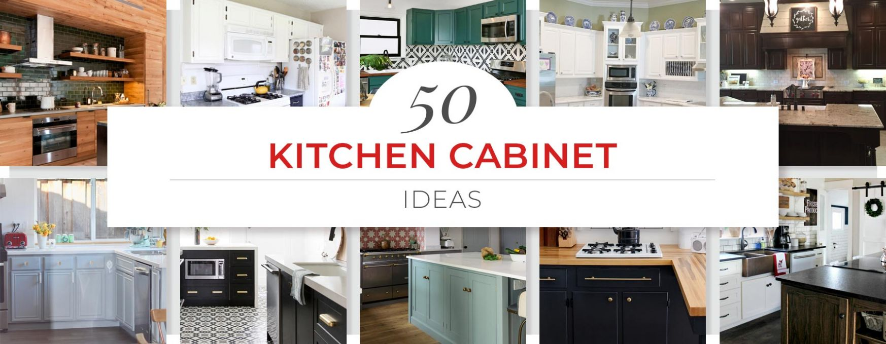 12 Kitchen Cabinet Ideas for 12