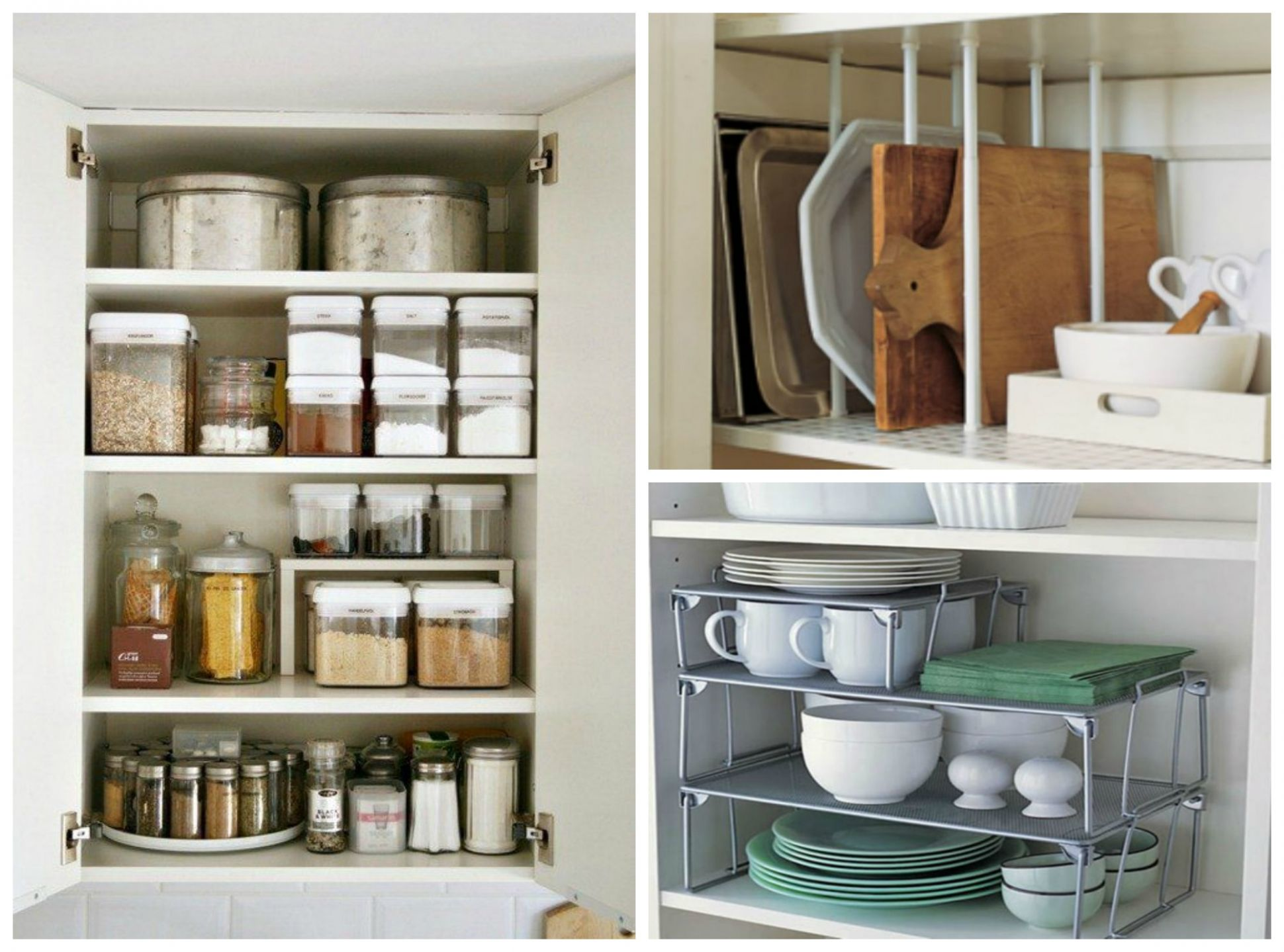 12 Kitchen Cabinet Organization Ideas That are Beyond Easy