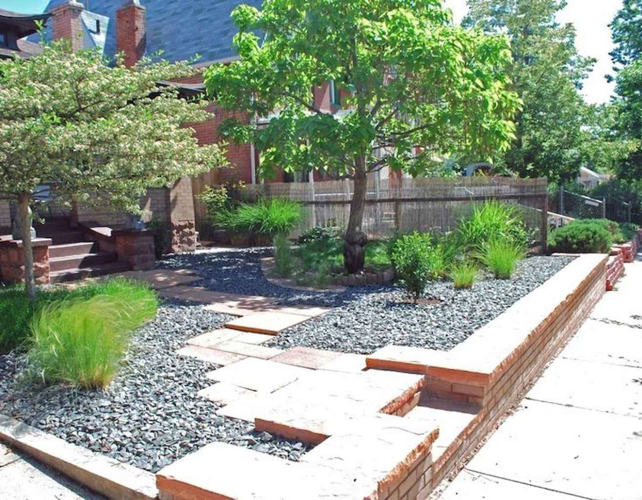 12 Low Maintenance Small Front Yard Landscaping Ideas - HomeSpecially - backyard ideas low maintenance