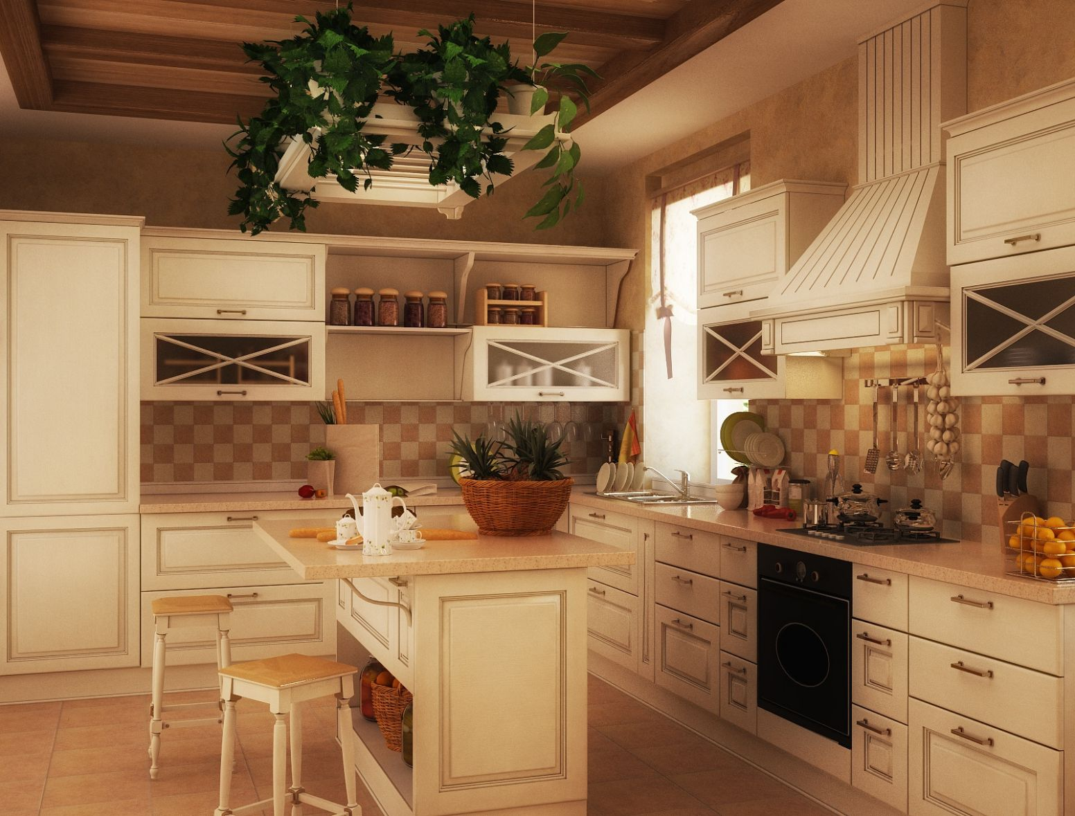 12 Luxurious Traditional Kitchens