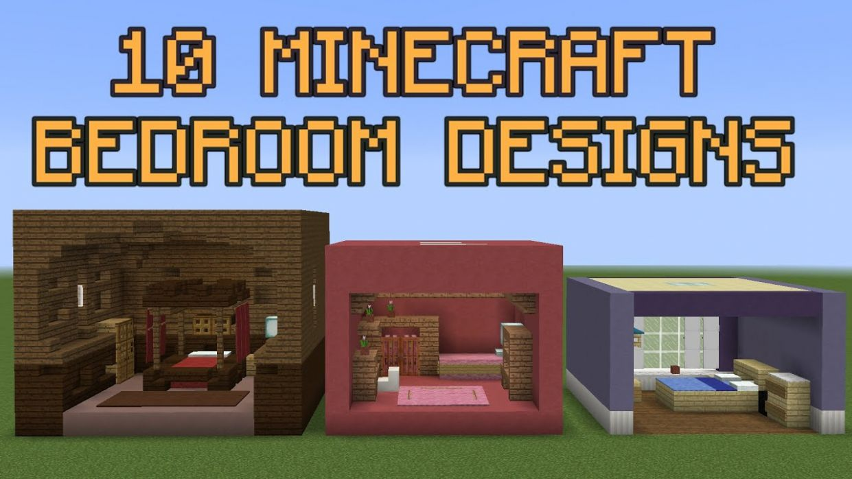 12 Minecraft Bedroom Designs! - bedroom ideas minecraft