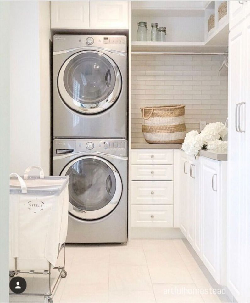 12 Modern Laundry Room Cabinets (With images) | Laundry room ...